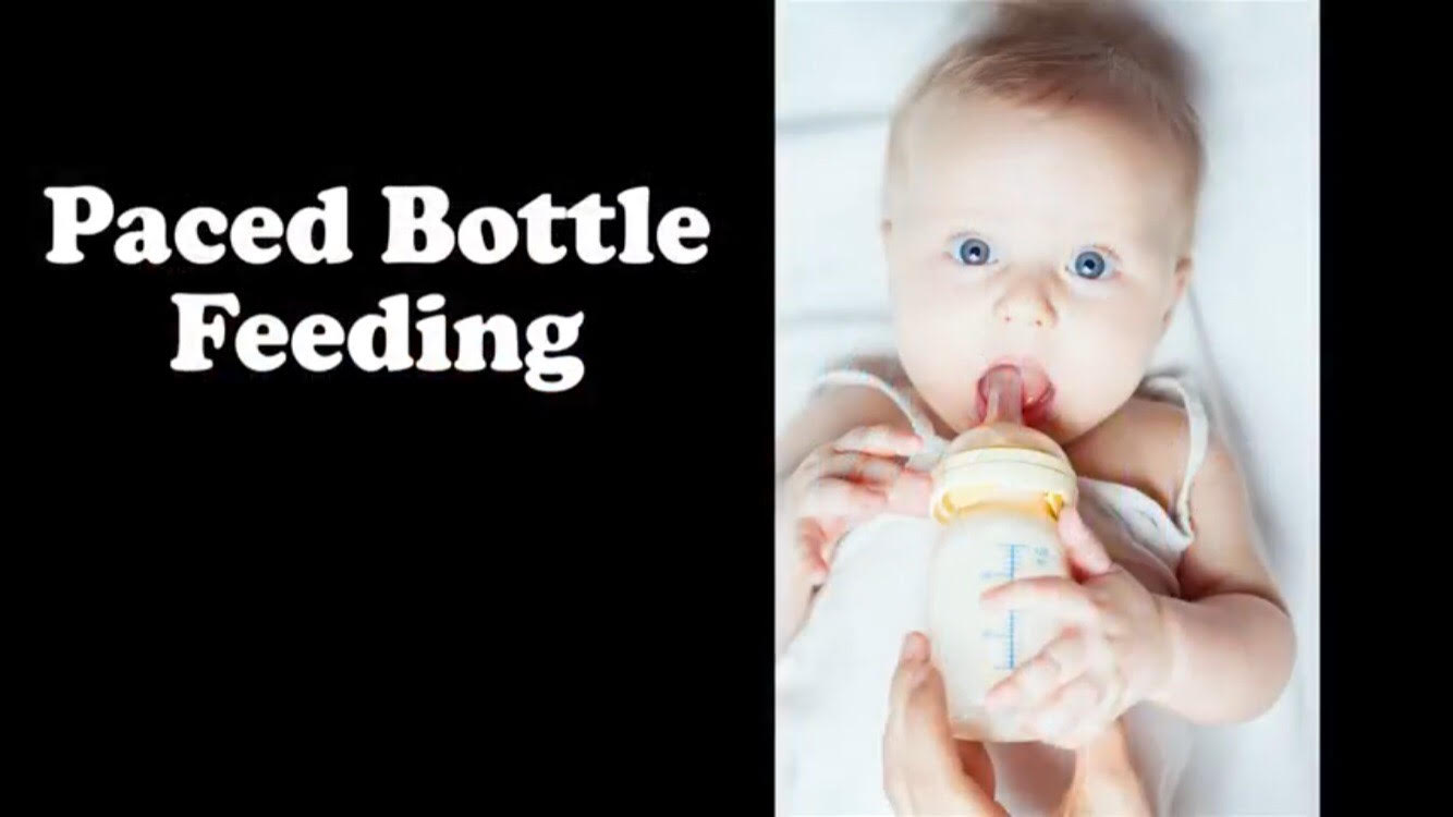 How to pace your bottle feeding